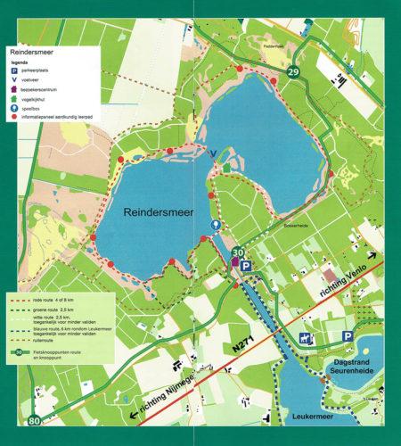 Wandelroute rond Reindersmeer